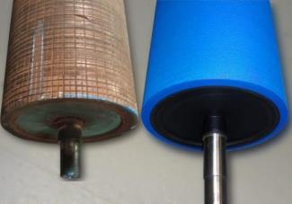 восстановление деталей полиуретаном - до и после